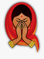9-98078_indian-cuisine-namaste-download-drawing-welcome-women